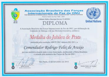ABFIP ONU - Jubileu de Prata