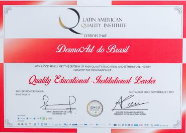 Qualidade Educacional - Líder Institucional
