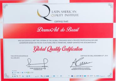 Certificação de Qualidade Global