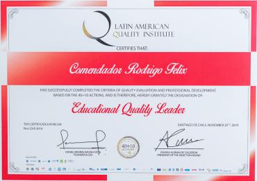 Líder da Qualidade Educacional