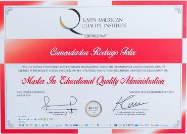 Mestrado em Administração da Qualidade Educacional