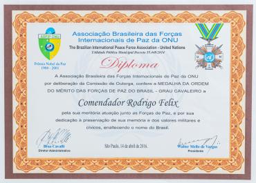 Comenda ABFIP ONU - Grau Cavaleiro